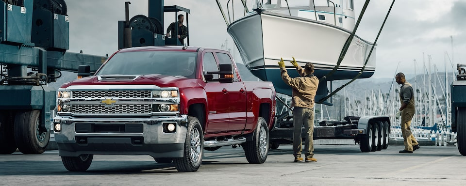 2019 Silverado HD Commercial Work Truck Performance: advanced towing