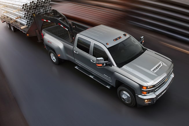 2019 Silverado HD Commercial Work Truck Performance: Duramax engine