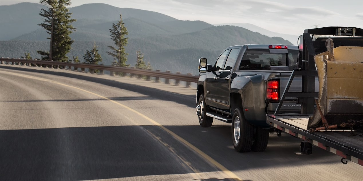 2019 Silverado HD Commercial Work Truck Performance: towing