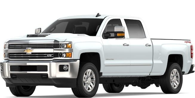 2019 Silverado HD Commercial Work Truck: Front View