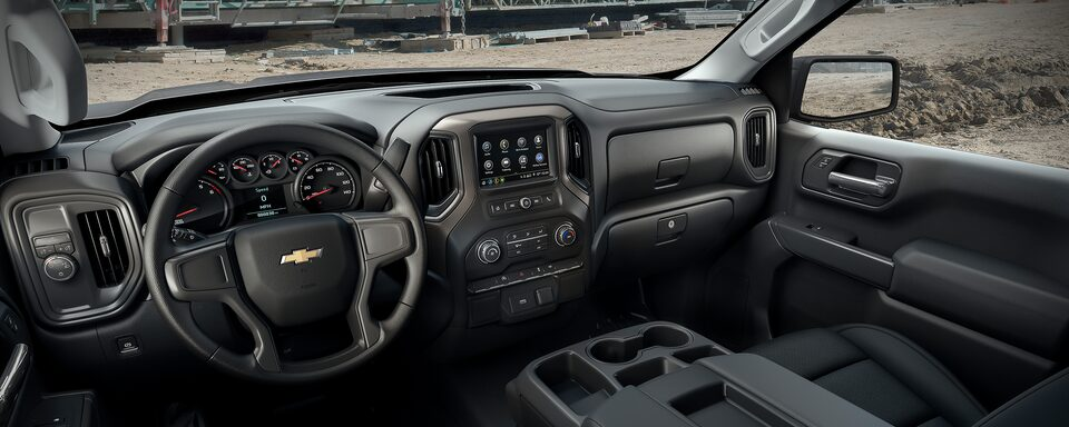2019 Silverado Commercial: Interior Dashboard