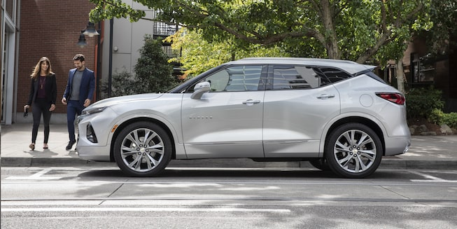 2019 Chevrolet Blazer Sporty SUV Side Profile