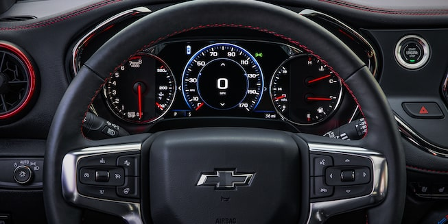 2019 Chevrolet Blazer Sporty SUV Steering Wheel