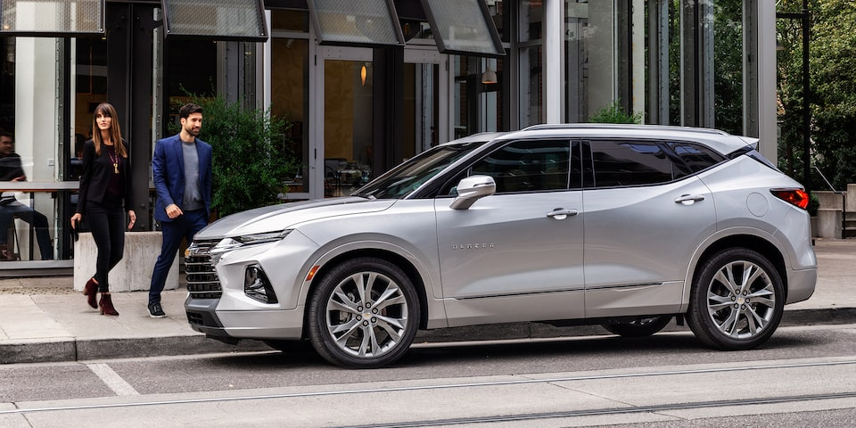 2019 All-New Blazer Sporty SUV: Premier Front Side Profile