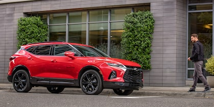 2019 All-New Blazer Sporty SUV: RS Front Side Profile