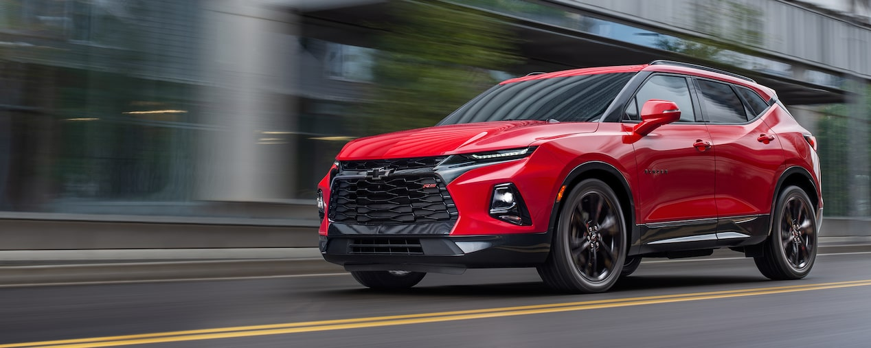 2019 All New Blazer Sporty Suv