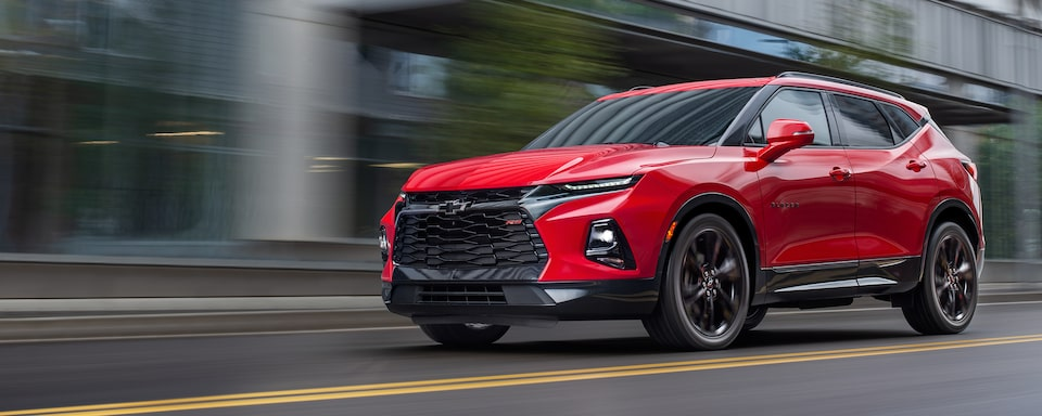 New Chevy Blazer >> All New 2019 Blazer Sporty Mid Size Suv Crossover