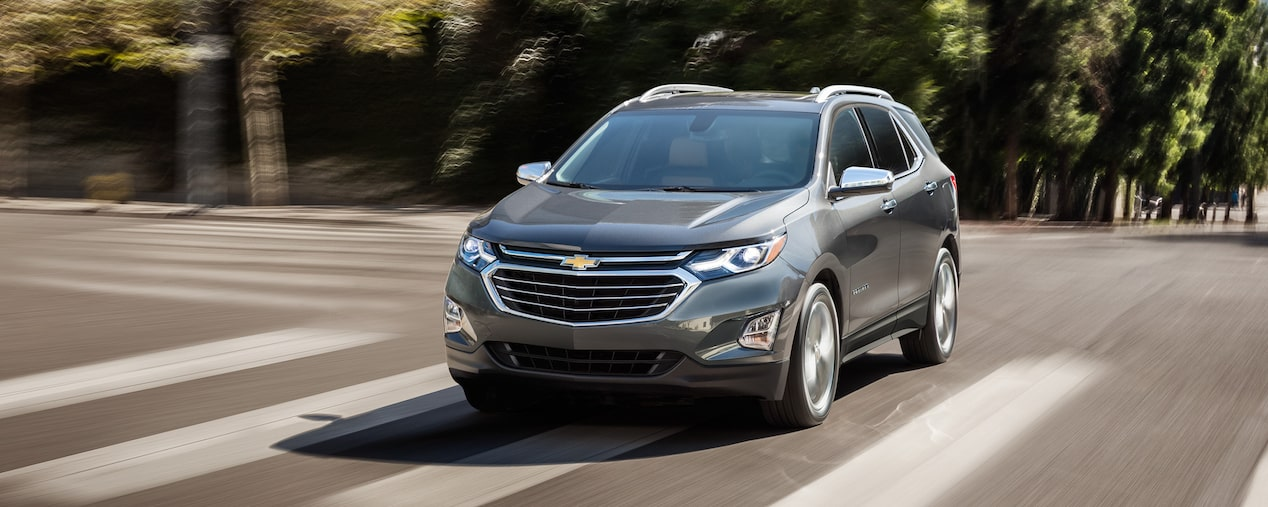 2019 Equinox Small SUV Design: Front view