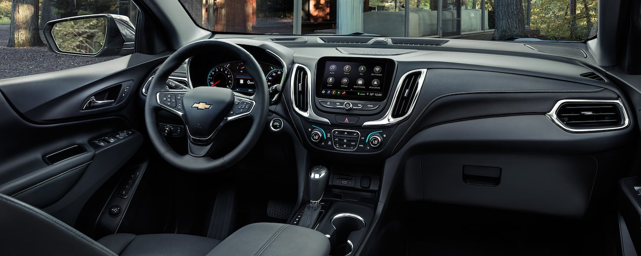 2019 Equinox Small SUV Design: Dashboard