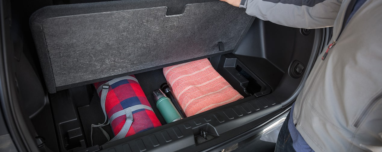 2019 Equinox Small SUV Design: extra cargo storage