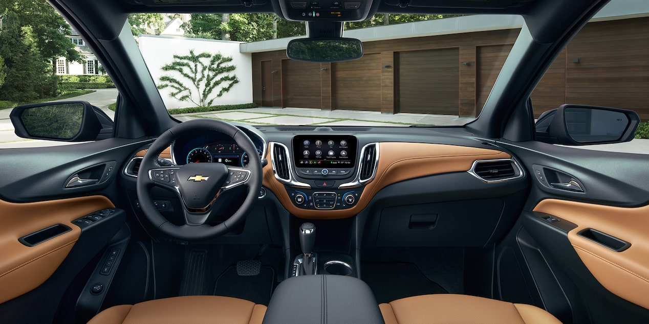 2019 Equinox Small SUV Technology: Dashboard