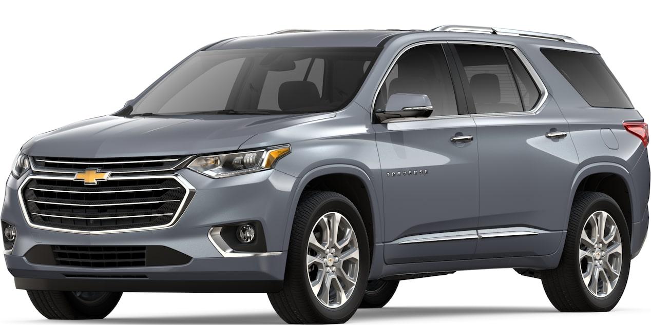 2019 Traverse: Mid Size SUV Crossover - 3 Row SUV