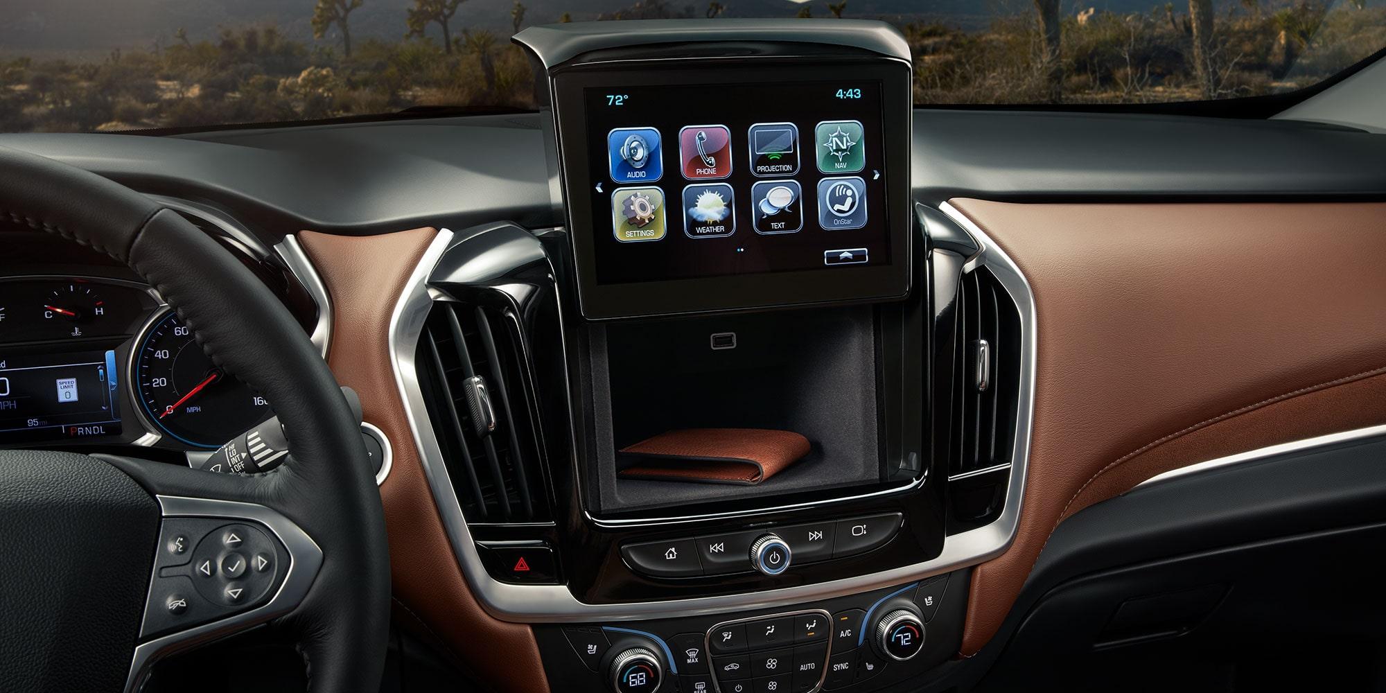 2019 Traverse Midsize SUV Interior Photo: Hidden Storage Amazing Design