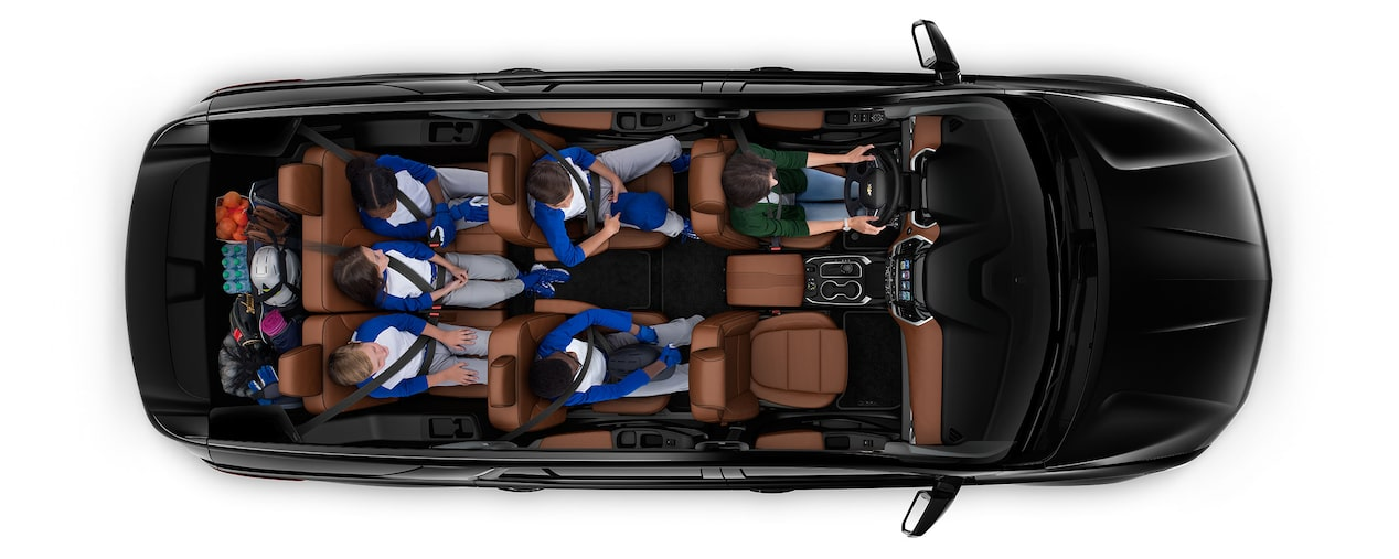 2019 Traverse Mid Size SUV Cargo: game day