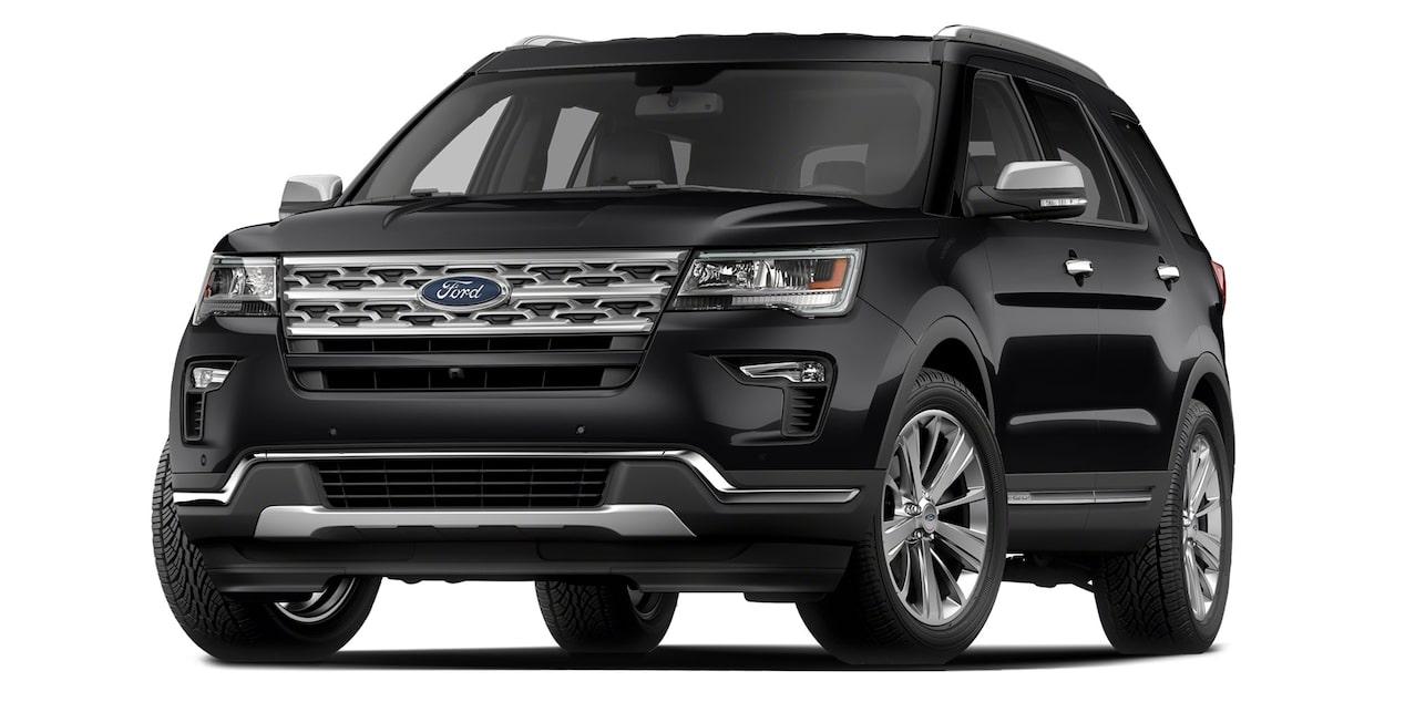 2019 Chevrolet Traverse Ford Explorer