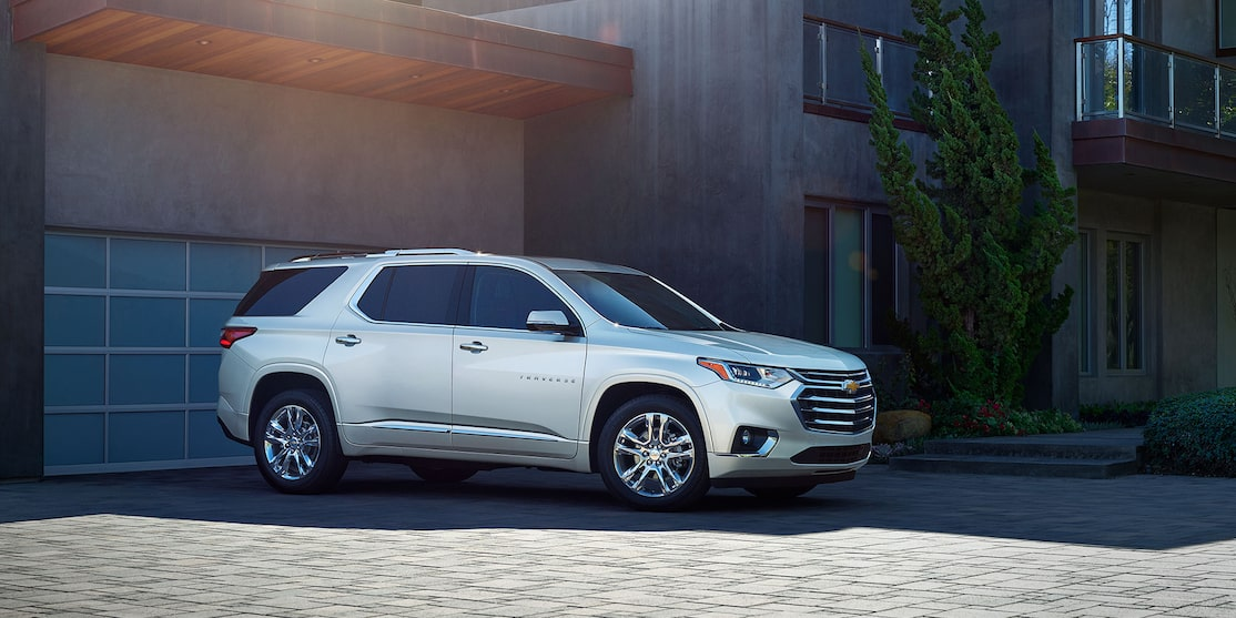 2019 Chevy Traverse Design