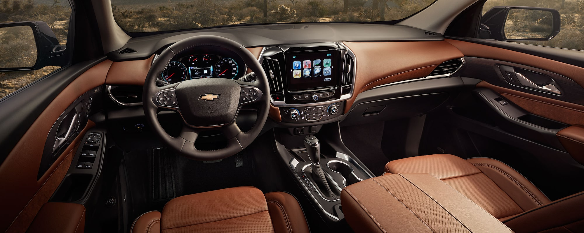 Nice 2019 Traverse Mid Size SUV Design: Interior Dashboard Nice Look