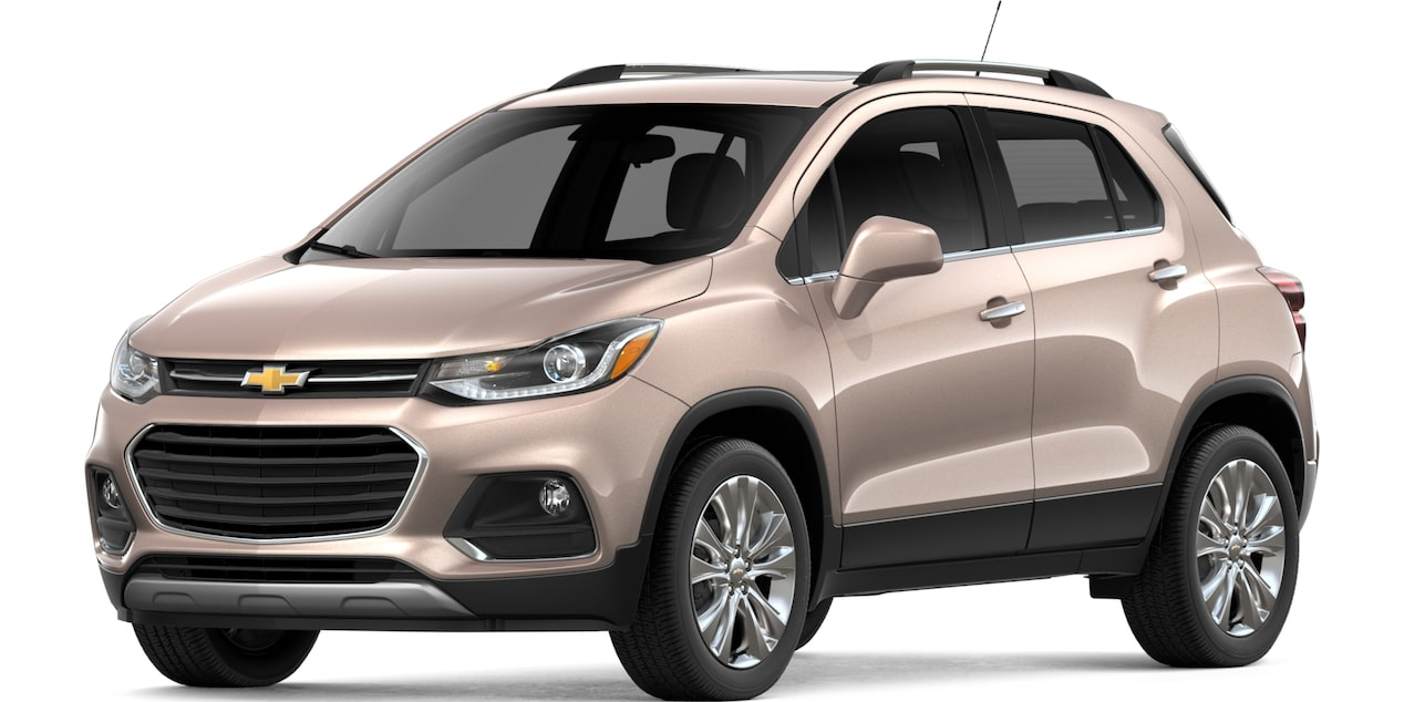 chevrolet trax official site