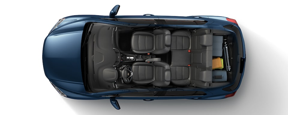 2019 Trax Compact SUV Cargo: Artist