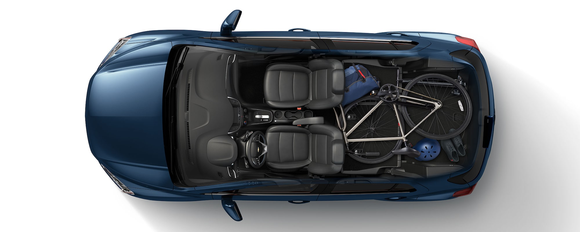 2019 Trax Compact SUV Cargo: Cyclist Pictures