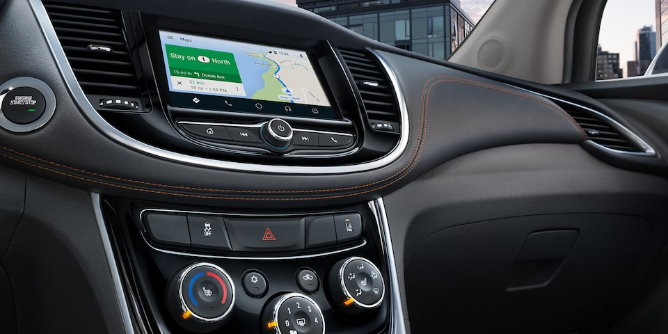 2019 Trax Compact SUV Technology: color touch screen display
