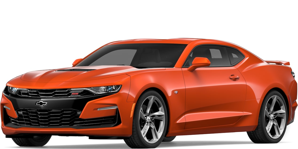 2019 Chevrolet Camaro in Crush