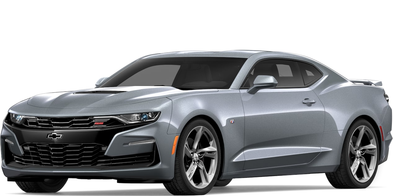 2019 Chevrolet Camaro In Satin Steel Metallic