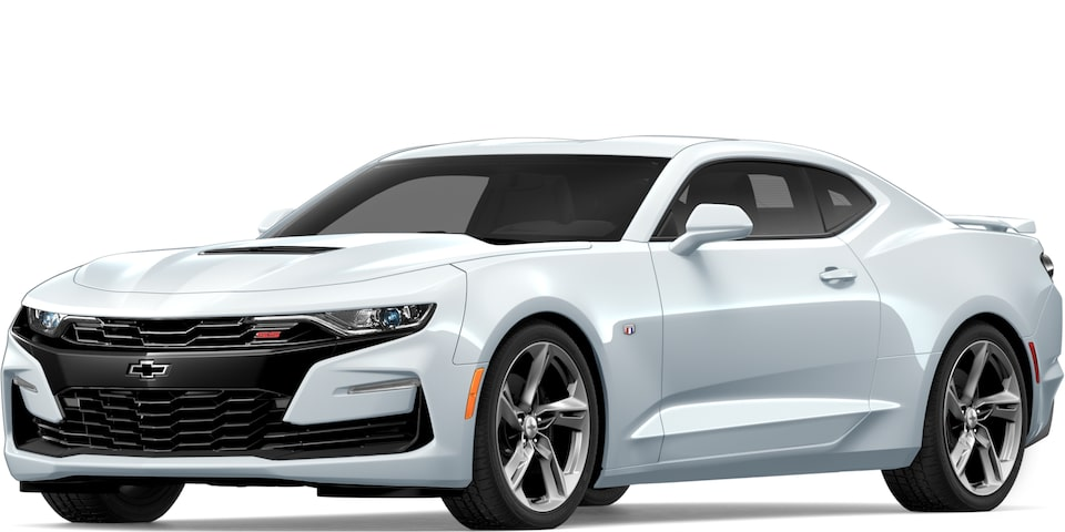 2019 Chevrolet Camaro in Summit White