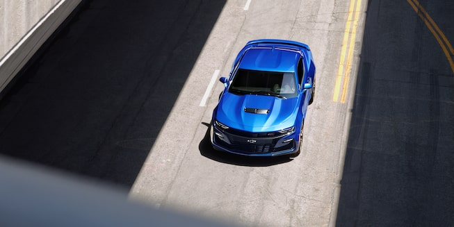 2019 Camaro Exterior Photo: overhead view