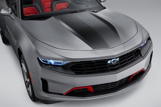 2019 Camaro: Convertible black stripe