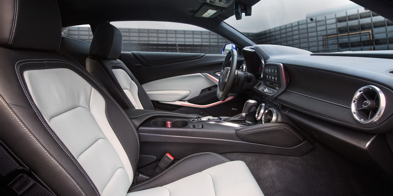 2019 Camaro: 3LT Coupe Interior