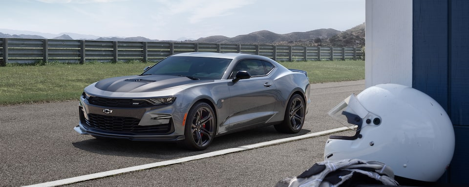 2019 Camaro: front driver side view
