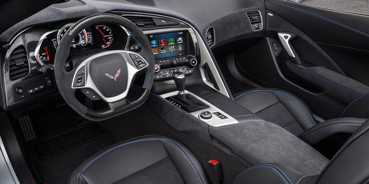 2019 Corvette Grand Sport Sports Car Design Interior Pit