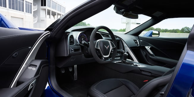 2019 Corvette Grand Sport Interior Photo: driver side
