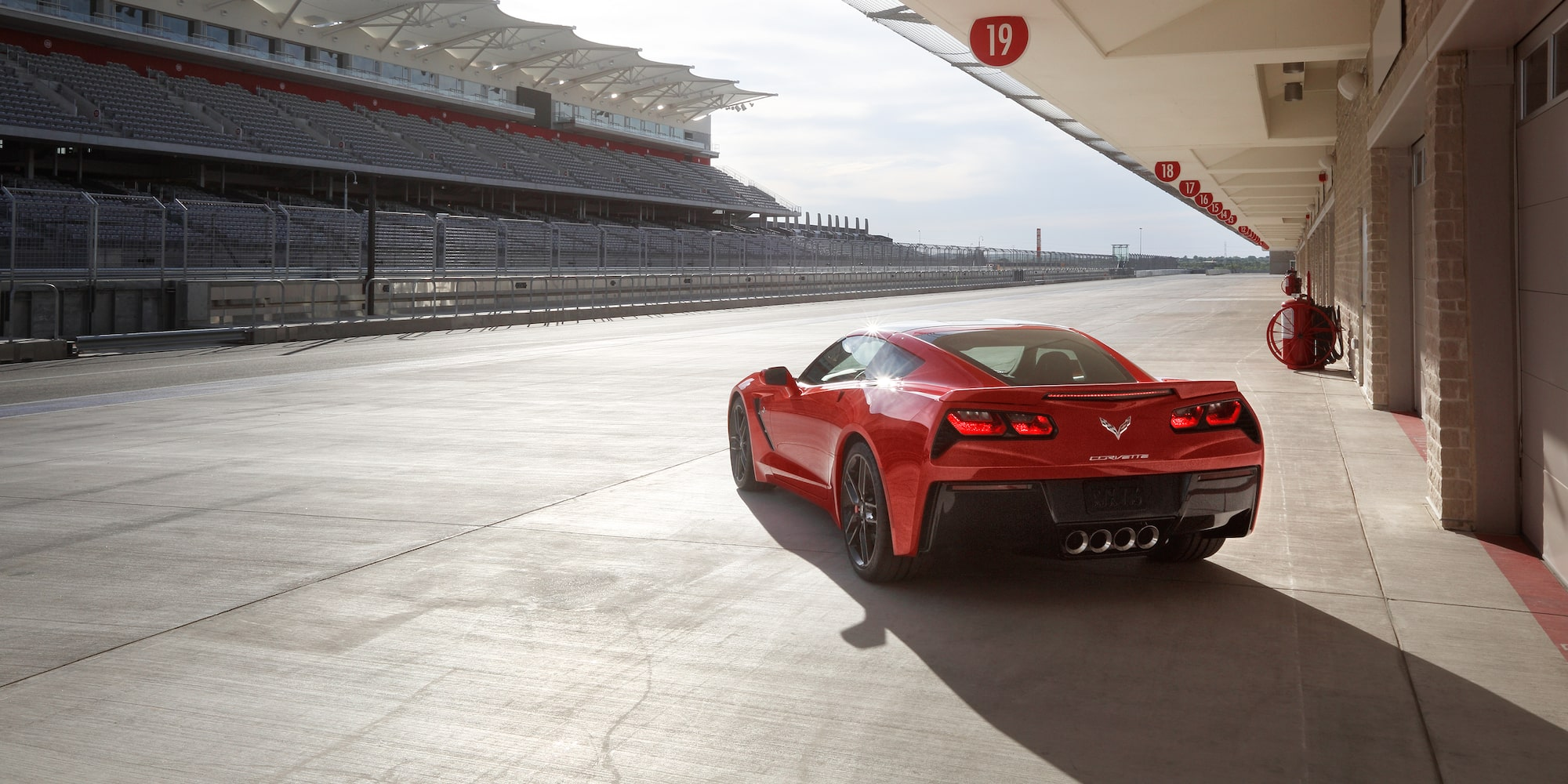 2019 Corvette with Magnetic Rode Control