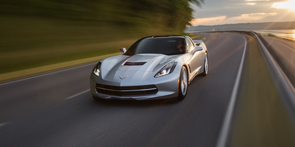 2019 Corvette Stingray Sports Car Design: front
