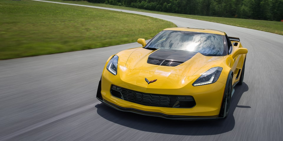 2019 Corvette Z06 Super Car Performance: front