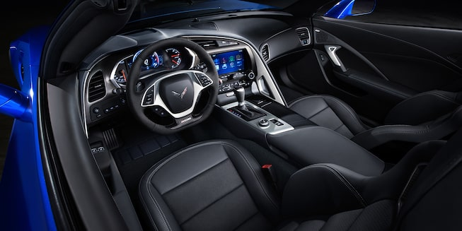 2019 Corvette Z06 Interior Photo: cockpit