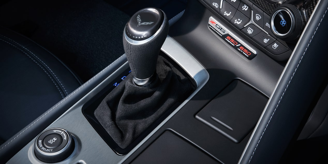 2019 Corvette Z06 Super Car Design: shifter knob
