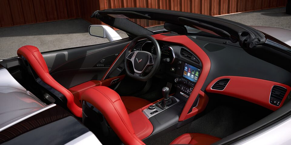 2019 Corvette Z06 Super Car Design: driver cockpit 2