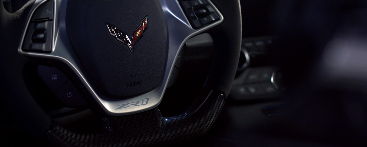 2019 Corvette ZR1 Supercar: steering wheel