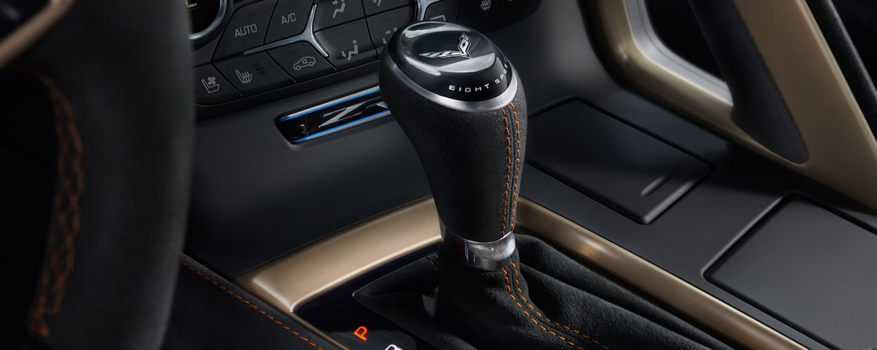 2019 Corvette ZR1 Supercar: center console