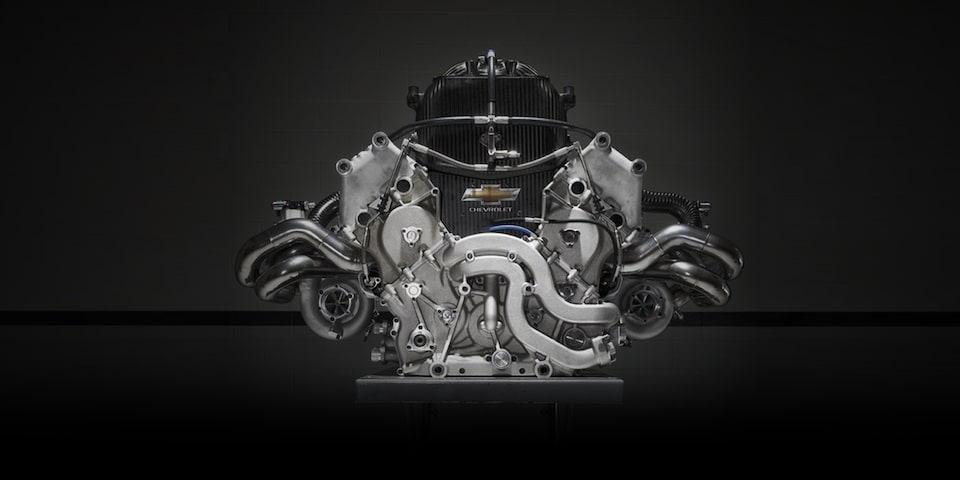 Chevy IndyCar Engine