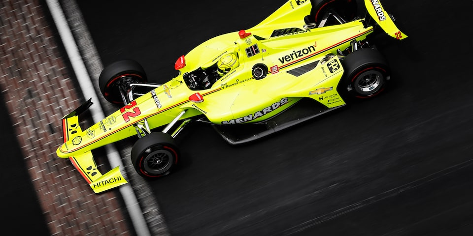 Simon Pagenaud Indianapolis 500 Win