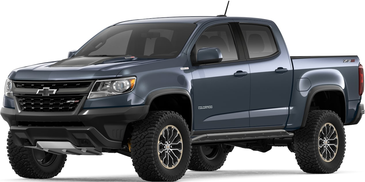 2019 Colorado ZR2 Off Road Truck: front view
