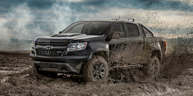 2019 Colorado ZR2 Off Road Truck Design: side profile