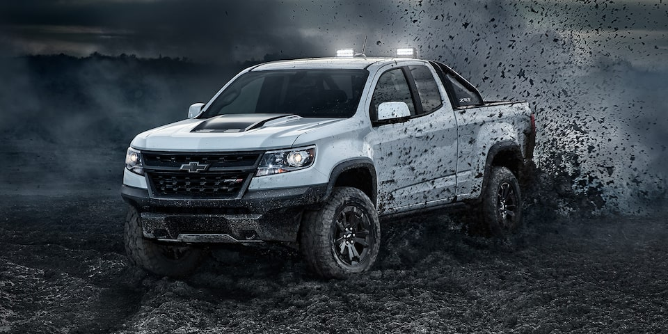 2019 Colorado ZR2 Off Road Truck Design: front side view