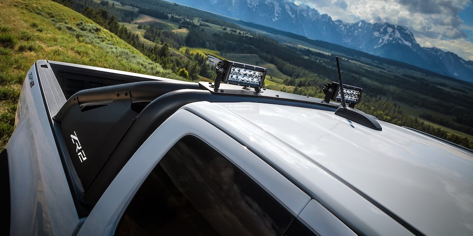2019 Colorado ZR2 Off Road Truck Design: top side view of bed