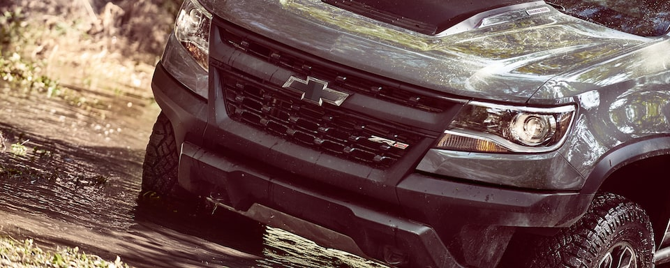 2019 Colorado ZR2 Off Road Truck Performance: front grille