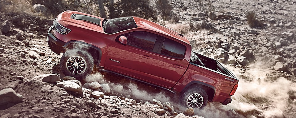2019 Colorado ZR2 Off Road Truck Performance: side profile